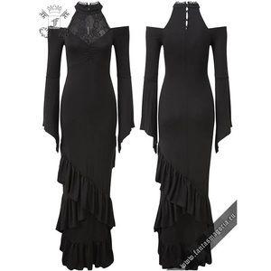 Killstar Forever Fades Fishtail Dress